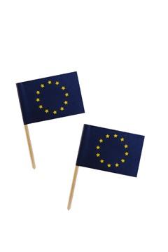"""""""Fahnenpicker """"""""Europa"""""""", 6.8cm, 100 Stk."""""""