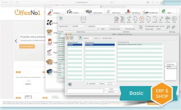 ERP und Shop Basic