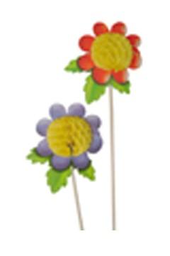 """""""Deko-Picker """"""""Blumen"""""""", 18.5cm, 100 Stk."""""""