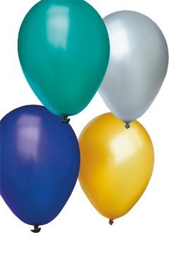 """Luftballons """"Perlmutt"""", bunt, Ø30cm, 50 Stk."""