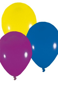 Luftballons, bunt, Ø36cm, 50 Stk.